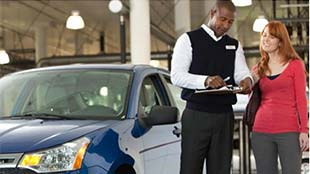 Get a vehicle history report with your certified pre-owned car at Auffenberg Ford Belleville