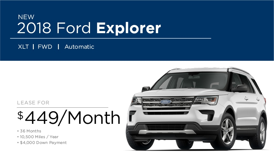 Ford Explorer Special in Fairfield CA