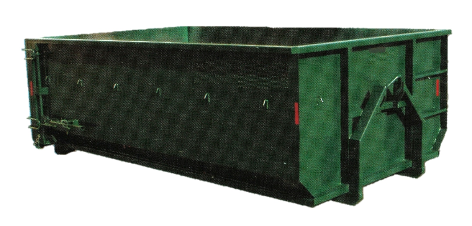 2014 Fort Fabrication 15 Yard Mini Roll Off Container