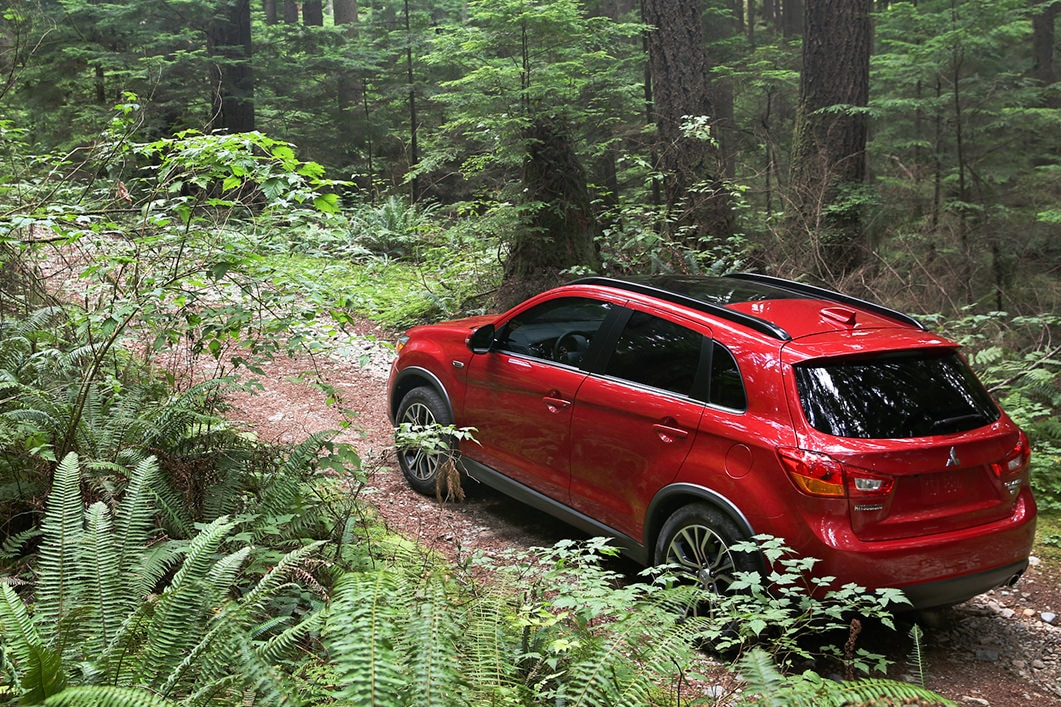 2017 Mitsubishi Outlander Sport off-road