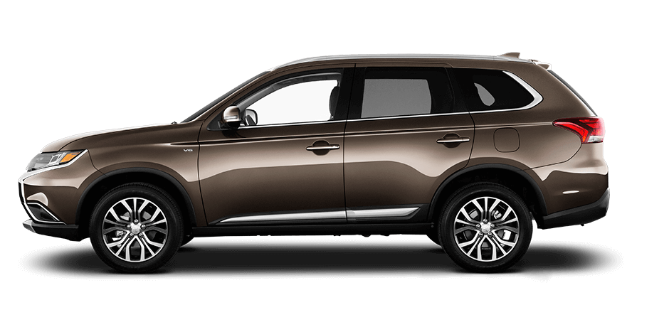 2017 Mitsubishi Outlander Quartz Brown