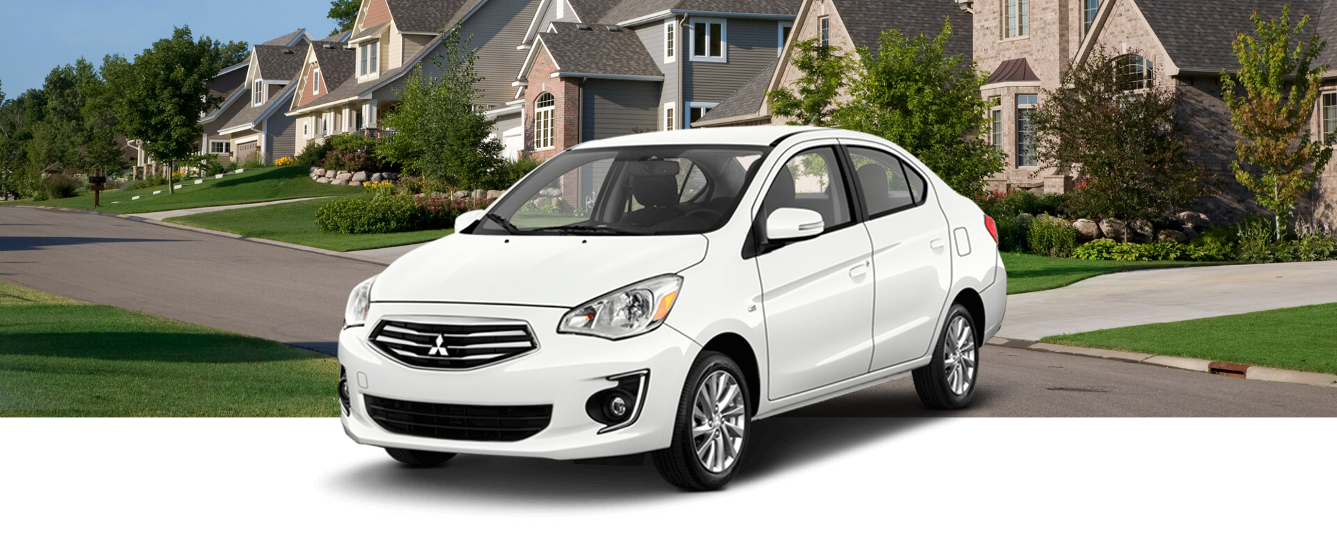 2018 Mitsubishi Mirage G4 MLP with background