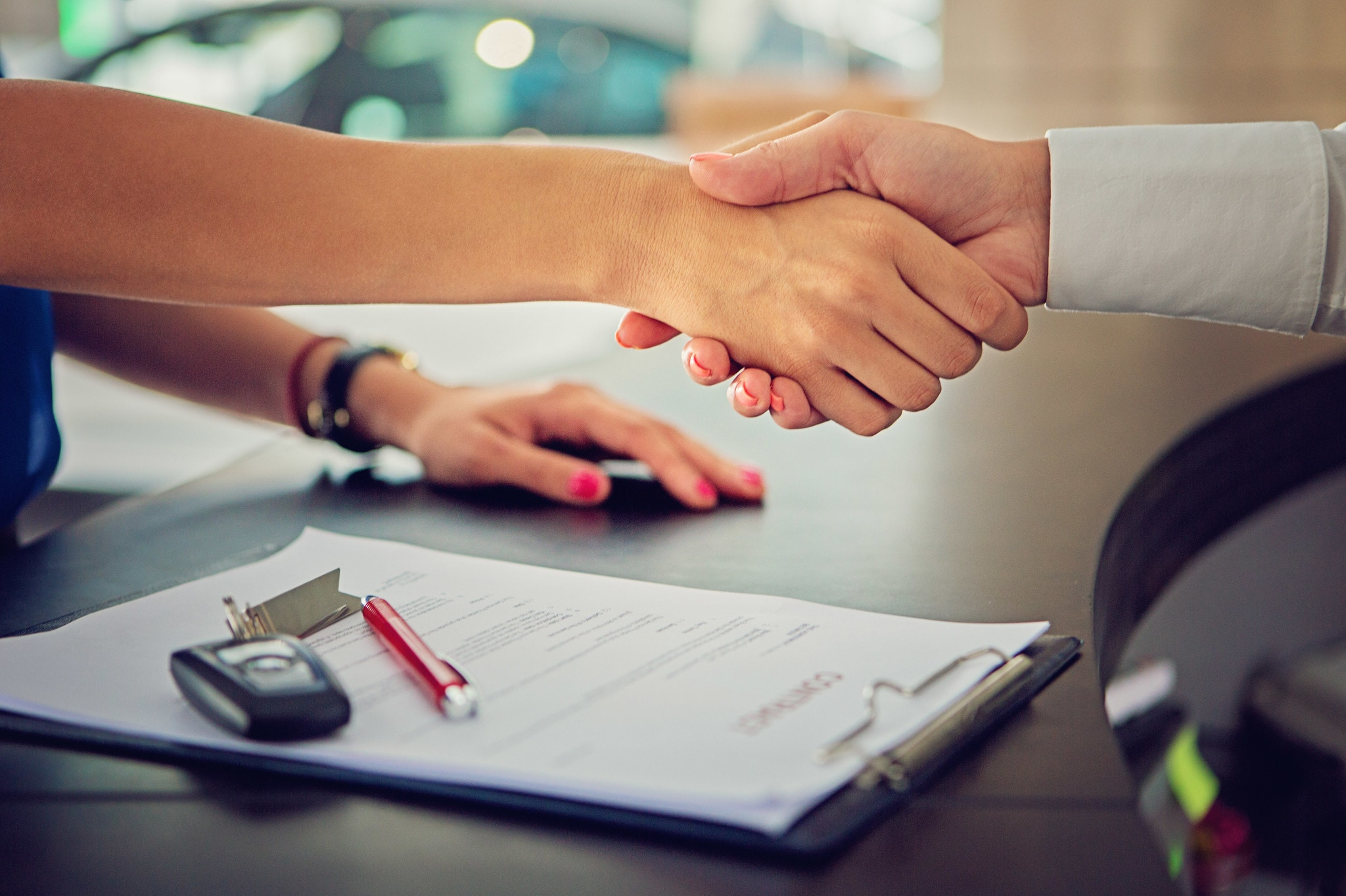 Closing a deal at an auto dealership | Auburn, NY