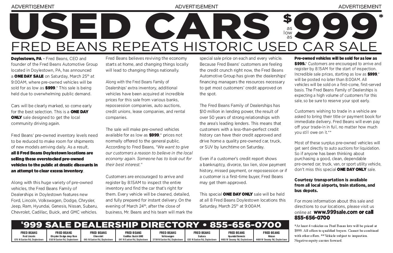 fred beans volkswagen of doylestown – car image ideas
