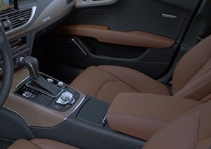 2018 Audi A7 seating