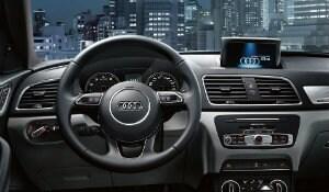 2017 Audi Q3 interior