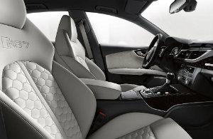 2017 Audi RS 7 interior design