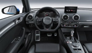 2017 Audi A3 interior