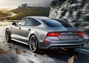 Exterior of the 2018 Audi A7