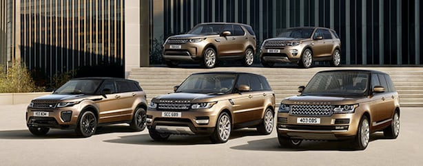 New Land Rover vehicles available near Detroit in Birmingham