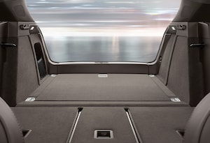 Cargo space in the 2018 Porsche Macan