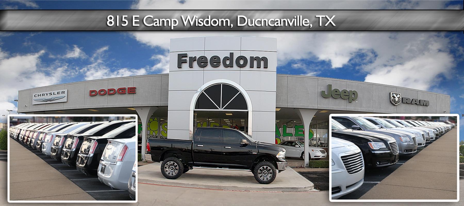 Freedom dodge chrysler jeep for Mega motors inc duncanville tx