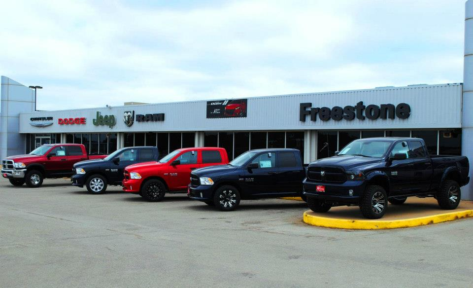 Freestone Chrysler Jeep Dodge In Fairfield Freestone