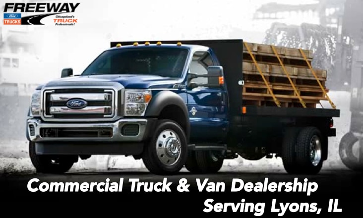 Ford Commercial Van Amp Truck Dealer Serving Lyons Il