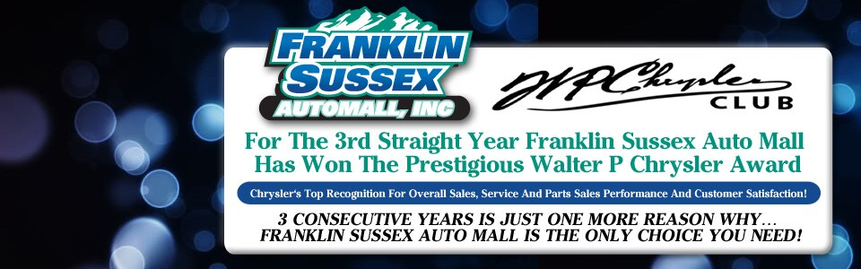 Franklin Sussex Auto Mall | New and Used Chrysler, Dodge ...