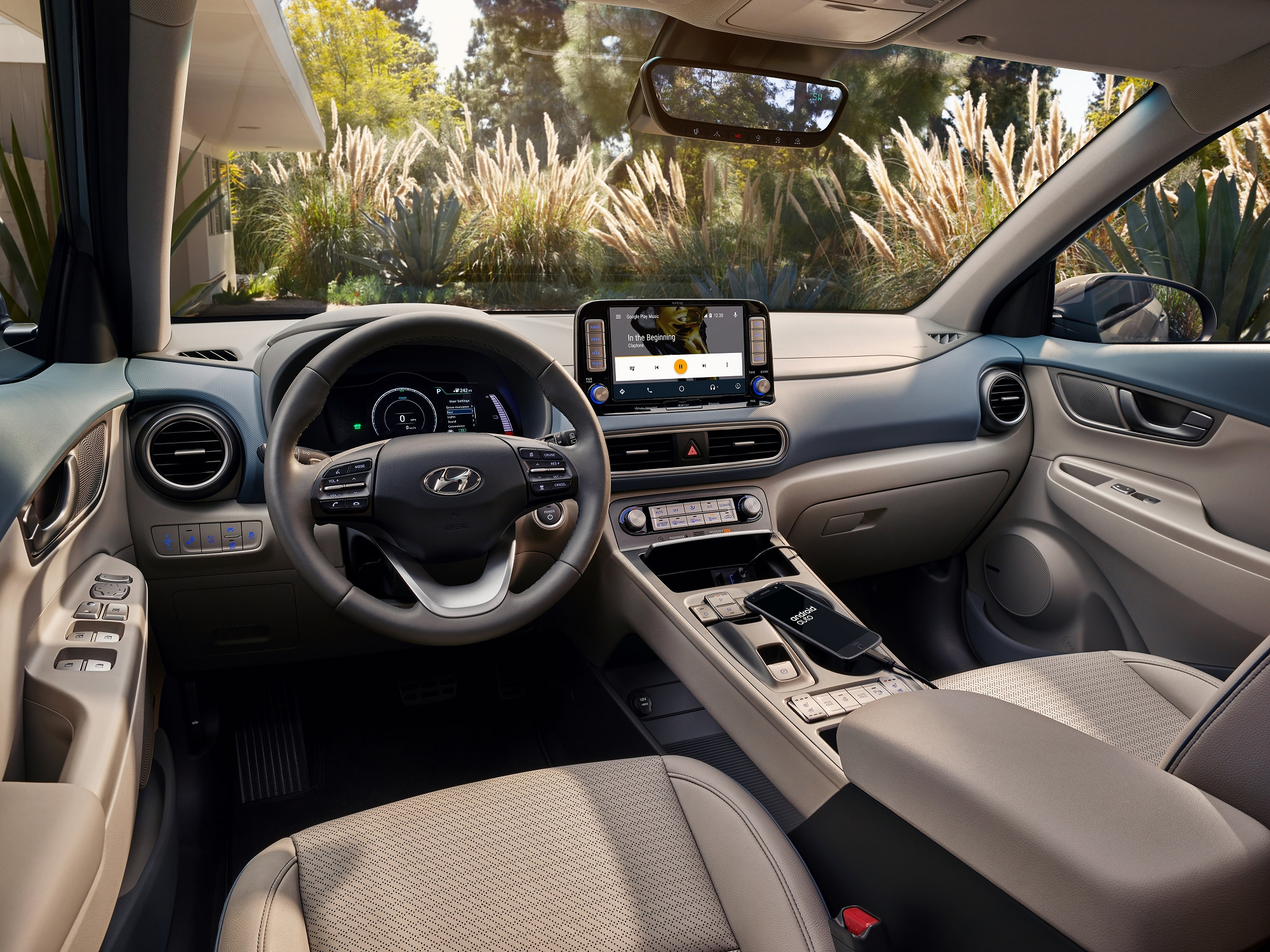 New Hyundai Kona EV Interior