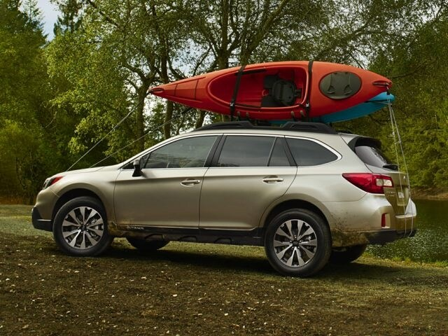 Subaru Outback roof rack