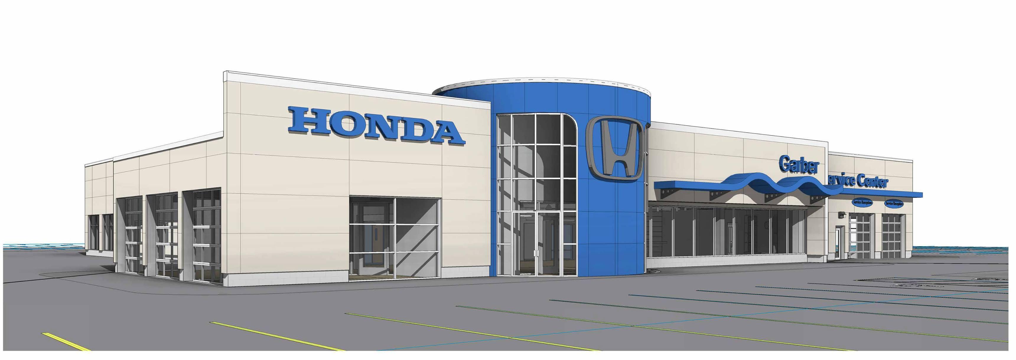 Garber honda sales service new faculities in rochester ny for Atlanta area honda dealers