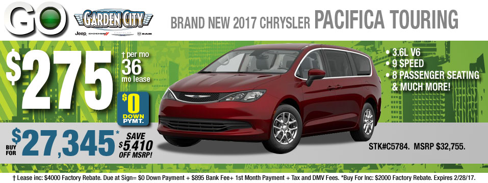 Garden City Chrysler Vehicle Deals Sales Hempstead Levittown
