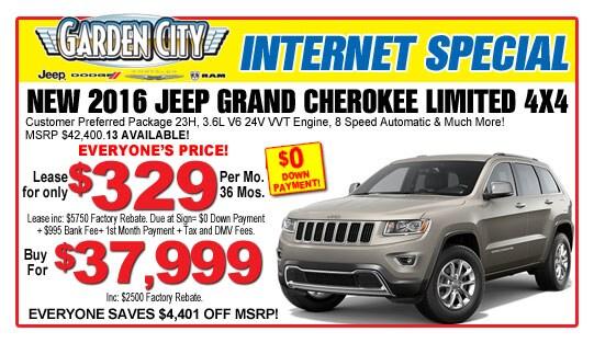 Garden City Jeep Model Deals Incentives Levittown