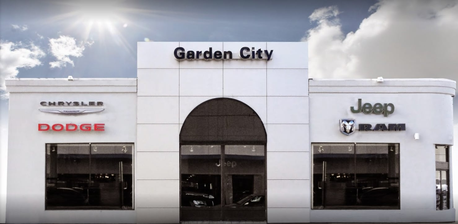 Garden City Jeep Chrysler Dodge RAM | New Chrysler, Dodge, Jeep, Ram