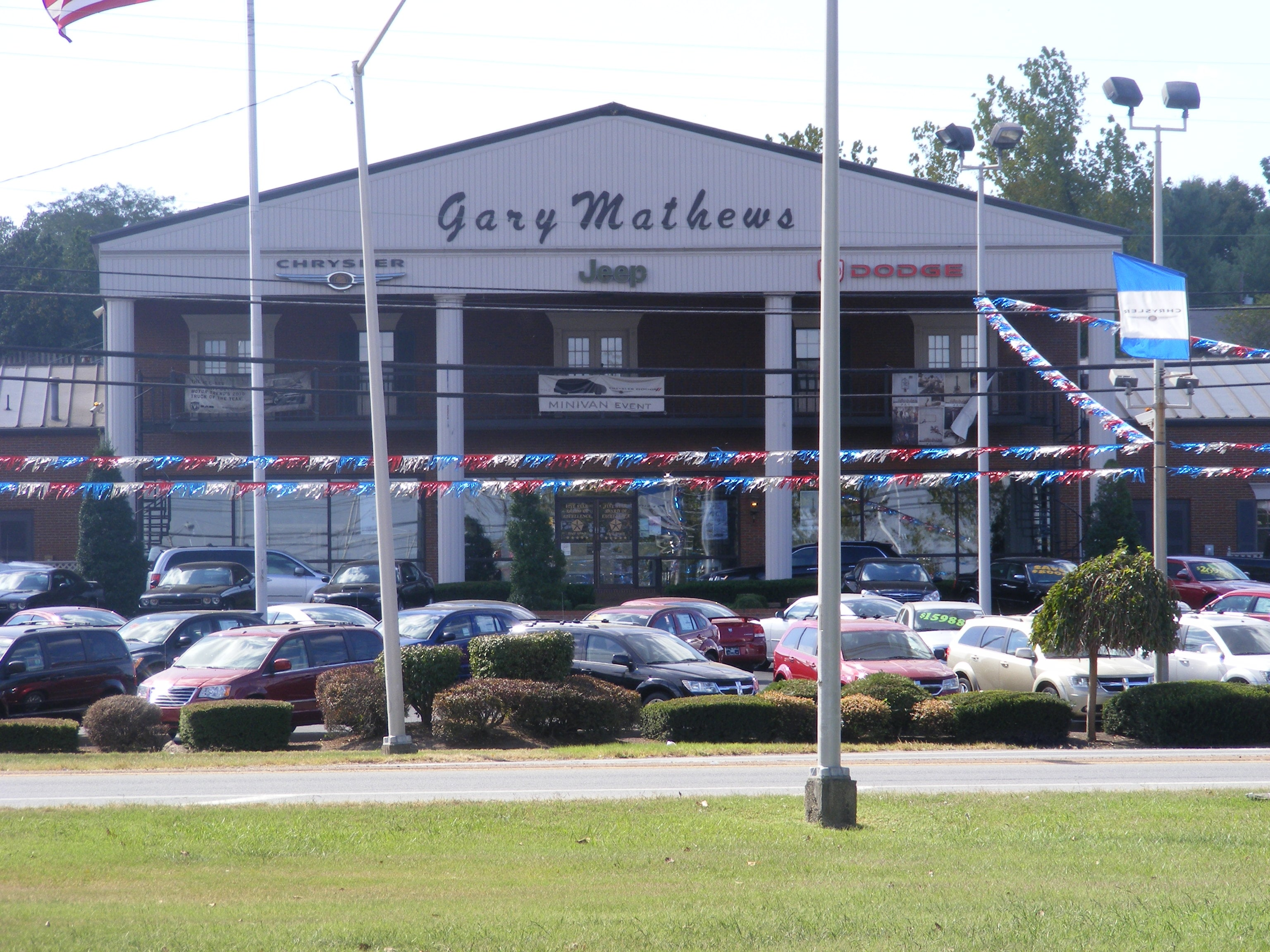 gary mathews motors chrysler dodge jeep ram