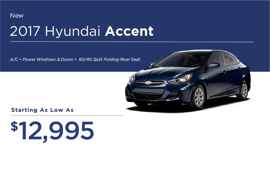 Hyundai Accent Special Offer