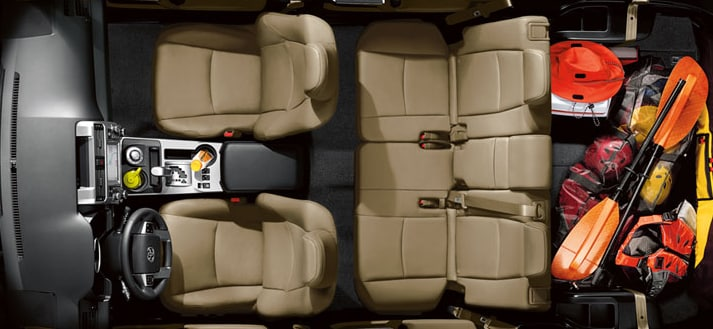 2014 Toyota 4Runner Interior Seating