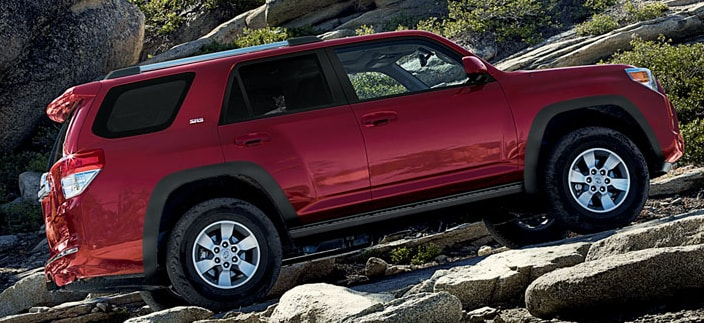 2014 Toyota 4Runner Exterior Side View