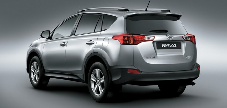 2014 Toyota RAV4 Exterior Rear End