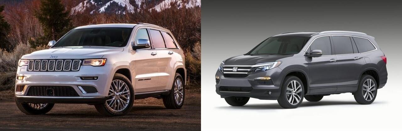 compare the 2017 jeep grand cherokee vs the 2017 honda. Black Bedroom Furniture Sets. Home Design Ideas