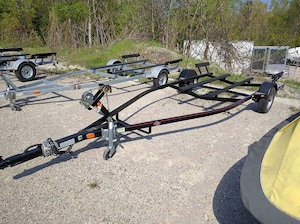 2012 Bear Trailers ABV 70-17 Powder coated