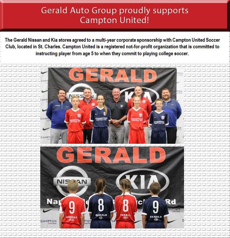 Gerald Cares Gerald Kia Of North Aurora