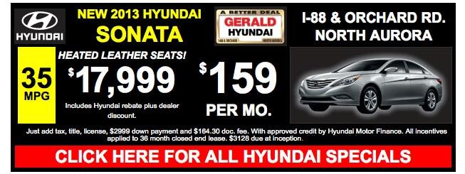 North Aurora Gerald Hyundai Of North Aurora New Used