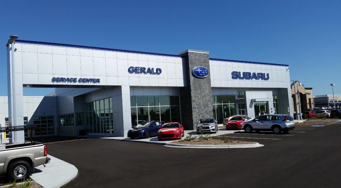 Gerald Subaru New Subaru Dealership In And North Aurora Il