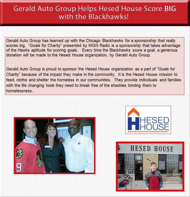 Gerald Cares Gerald Subaru Of Naperville Car Dealers