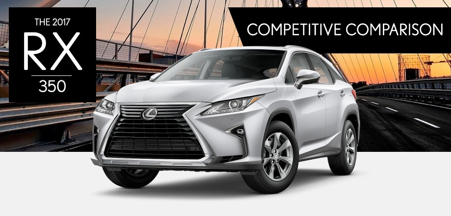 Compare The New Rx 350 Near Columbus Oh Germain Lexus Of