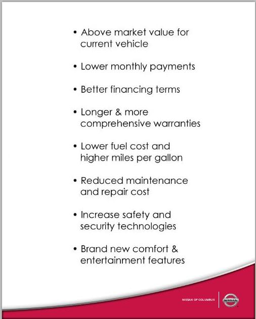 Germain Nissan Vehicle Exchange Program Dublin Oh Car