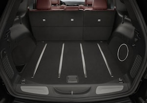 2018 Jeep Grand Cherokee cargo space