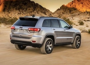 Exterior style of the 2017 Jeep Grand Cherokee