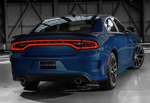 Exterior of the 2018 Dodge Charger