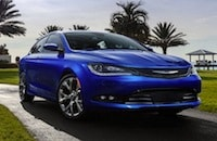 2016 Chrysler 200 near Los Angeles
