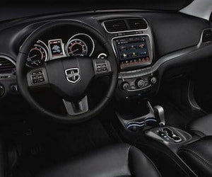 Cabin of the 2017 Dodge Journey