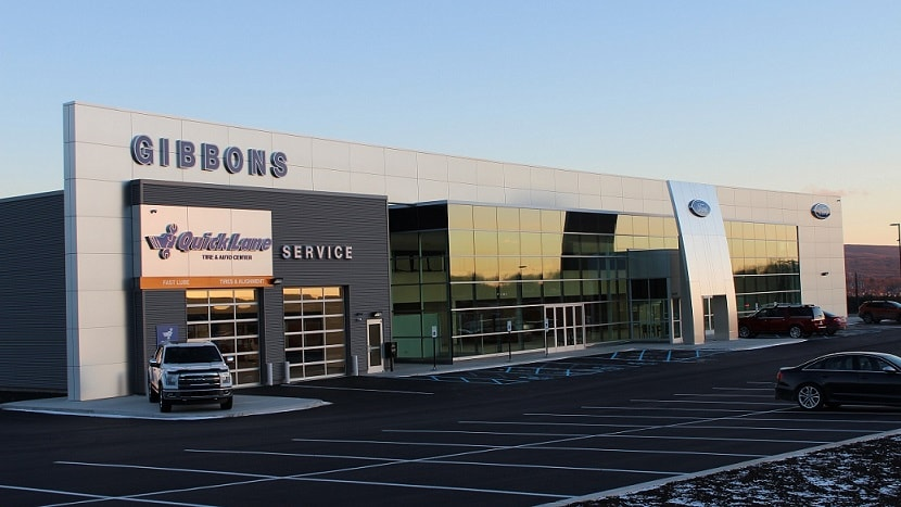 new gibbons ford facility dickson city ford dealership. Black Bedroom Furniture Sets. Home Design Ideas