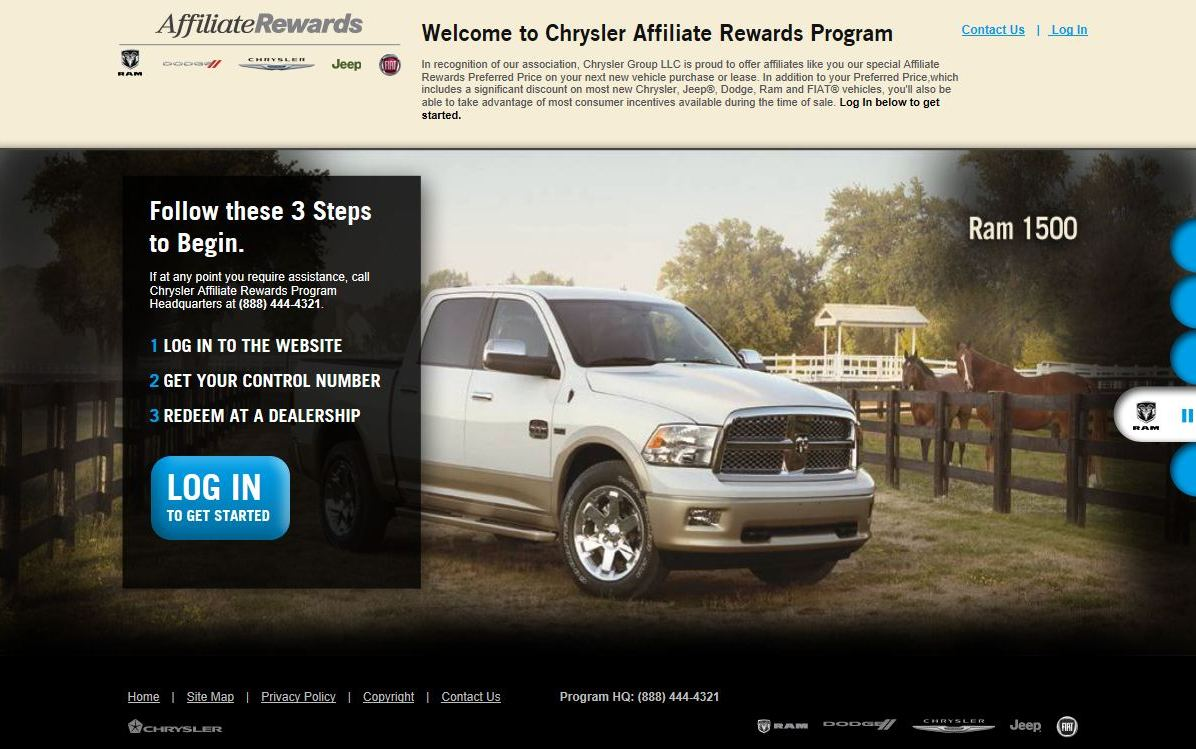 Chrysler Affiliate Rewards Wilson Dodge Jeep Corvallis Or
