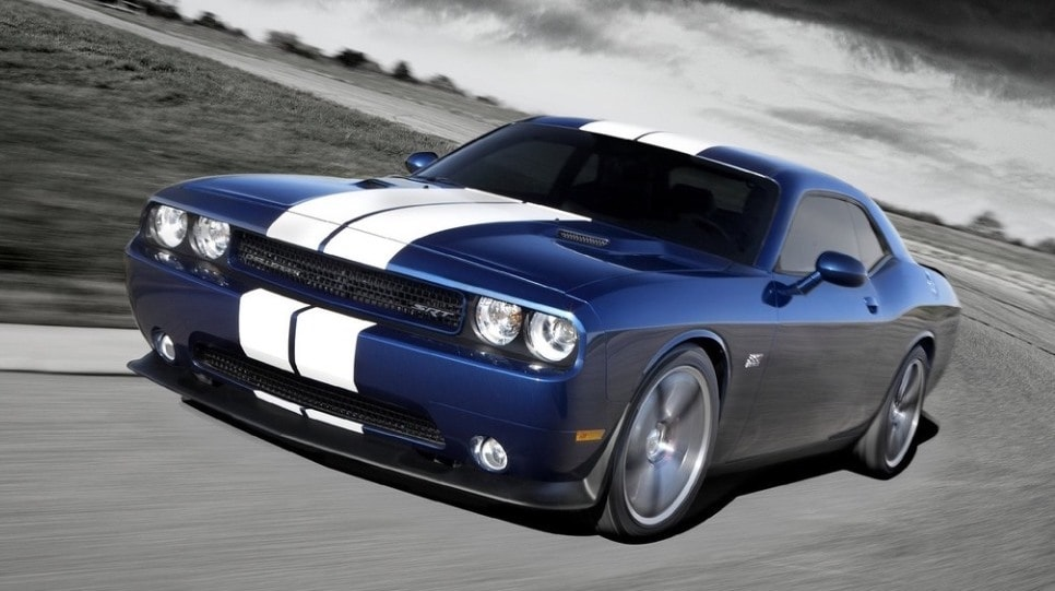 2016 Dodge Challenger in blue