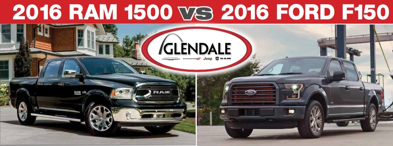 2016 ram 1500 vs 2016 ford f 150 st louis mo glendale. Black Bedroom Furniture Sets. Home Design Ideas