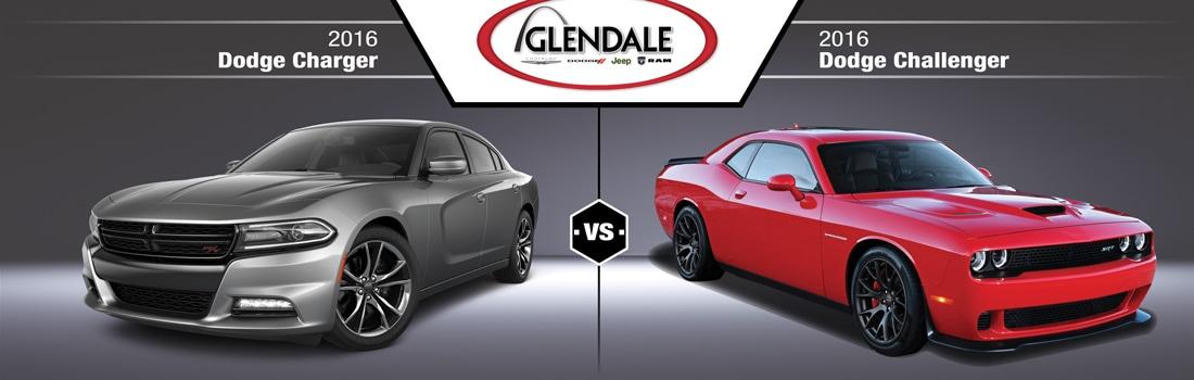 Dodge Charger Vs Challenger Comparison St Louis Mo
