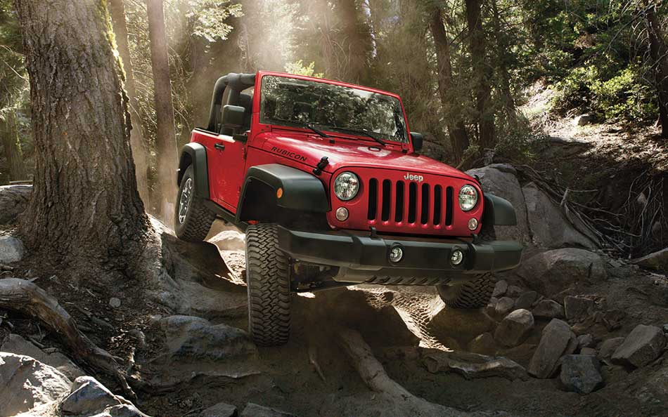 New Jeep Wrangler Red Exterior