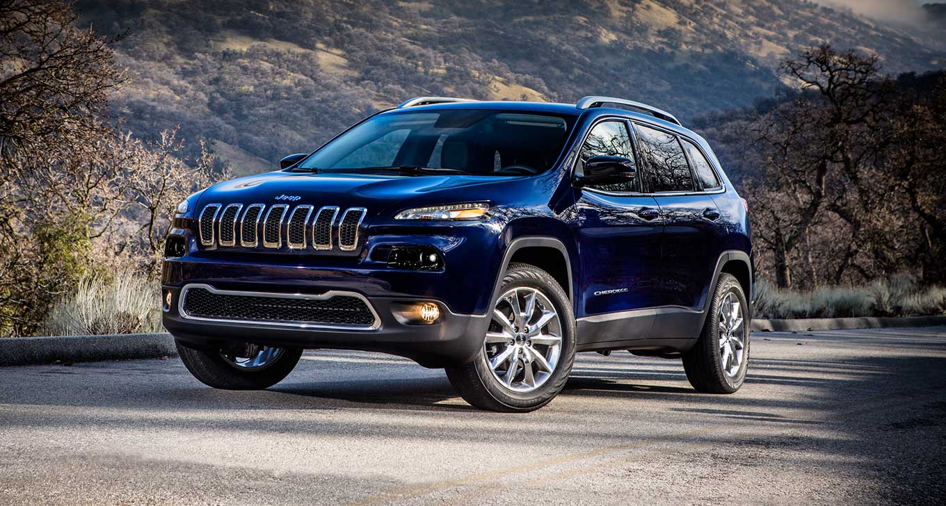 New Jeep Cherokee in Blue